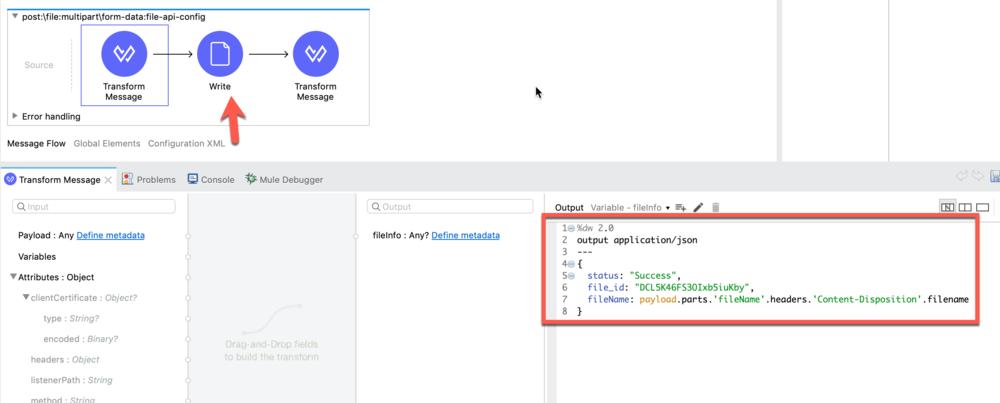 File REST API in RAML